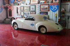 Healey 2.4 Coupe  by Swiss coach builder Beutler